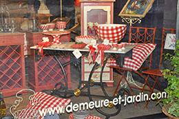 Demeure et jardin d coration mobilier arts de la table rouen centre vitrines de rouen - Mobilier jardin orleans rouen ...