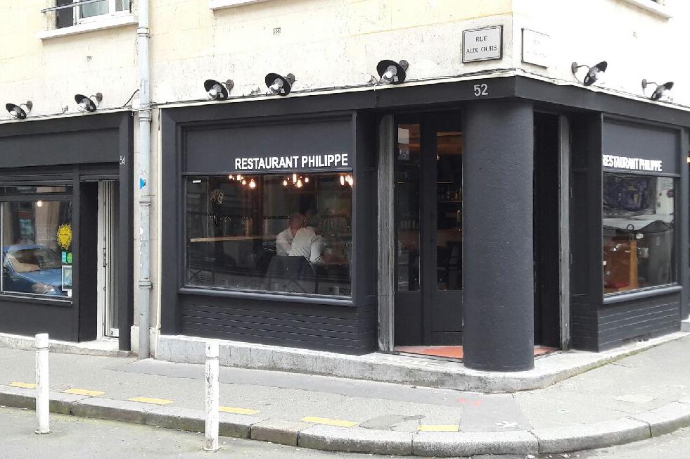 restaurant philippe restaurants rouen centre vitrines de rouen. Black Bedroom Furniture Sets. Home Design Ideas