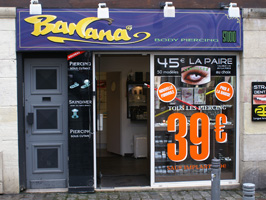 BANANA BODY PIERCING STUDIO ROUEN