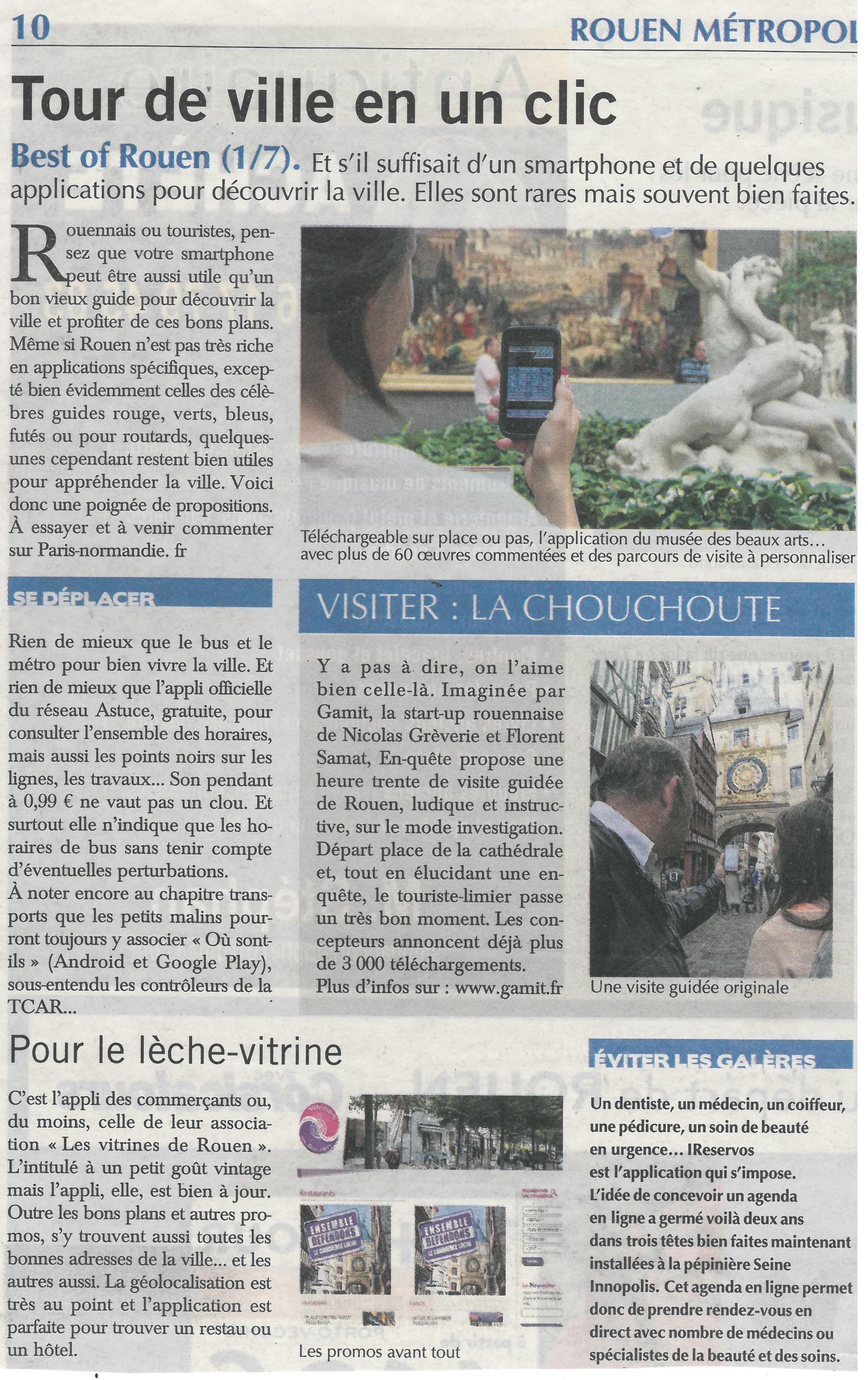 Rsum Lapplication Des Vitrines De Rouen Est Idale Pour Toutes Les Bonnes Adresses La Ville