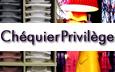 Bouton accueil chéquier privilege