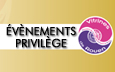 Bouton accueil evenement privilege