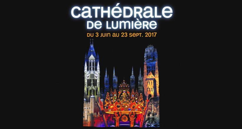 cathedrale de lumieres rouen 2017