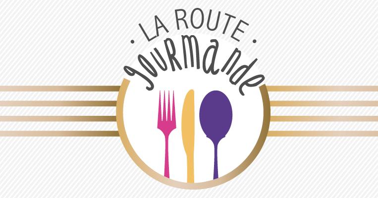 logo route gourmande long