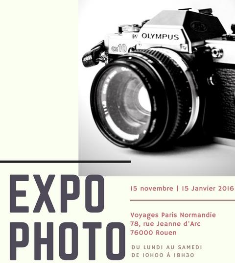 Exposition Photo chez Voyages Paris Normandie