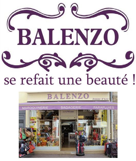 Balenzo se refait une beauté jusqu'au 30/03 !