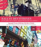 Affiche Rallye des Vitrines 2018 site